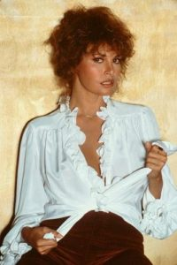 Raquel Welch White Blouse