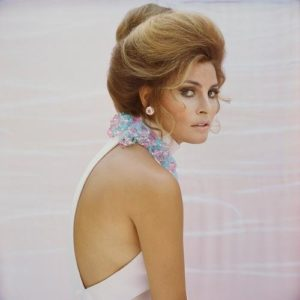 Raquel Welch in Pink Necklace