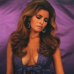 Raquel Welch Purple On Purple