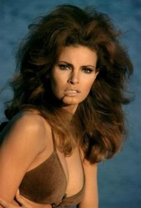 Raquel Welch on Miami Beach