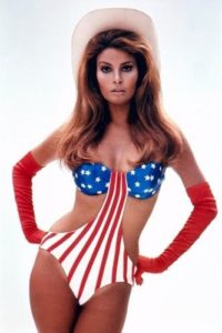Raquel Welch Stars and Stripes
