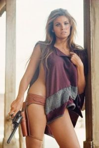 Raquel Welch Purple Poncho 3