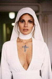 Raquel Welch as a Nun