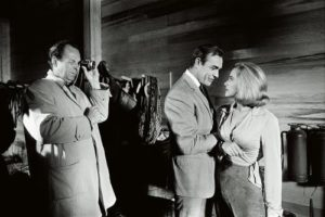 Honor Blackman and Sean Connery (with Photographer)