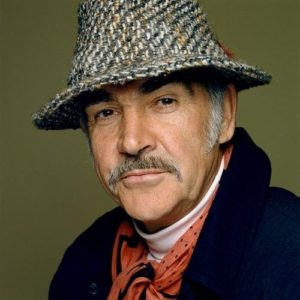 Sean Connery Hat And Scarf