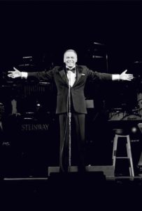 Frank Sinatra Stage Arms