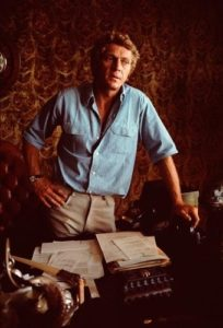 Steve McQueen At His Desk