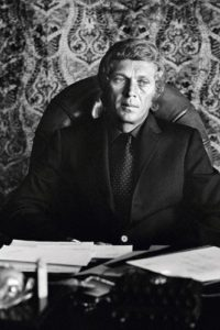 Steve McQueen At His Desk 2