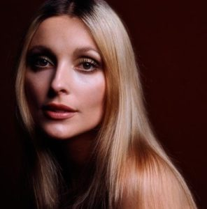 Sharon Tate Black and Gold