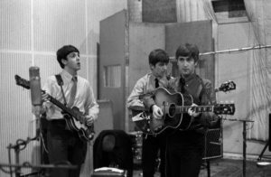 The Beatles Recording Session