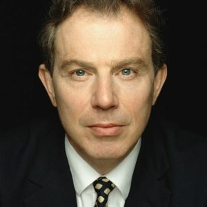 Tony Blair Dark Portrait