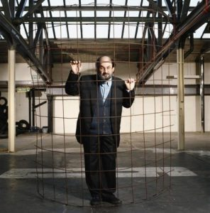 Salman Rushdie Wire Cage 2
