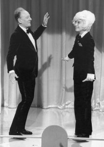 Gielgud and Channing Dance