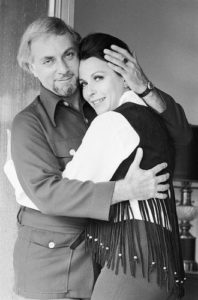 Claire Bloom With Husband Hillard Elkins
