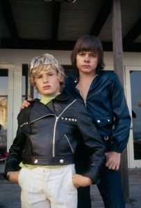 Jack Wild with Mark Lester