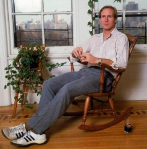 William Hurt Rocking Chair And Sneakers