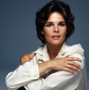 Ali MacGraw White And Blue