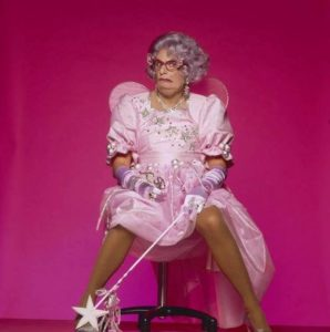 Barry Humphries Pink On Pink