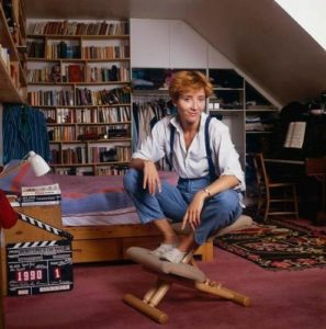 Emma Thompson Library Shot