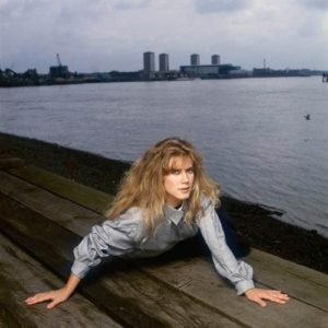 Imogen Stubbs By The Pier