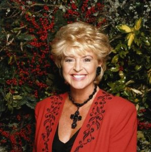 Gloria Hunniford In Garden