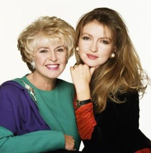 Gloria Hunniford With Daughter Caron Keating