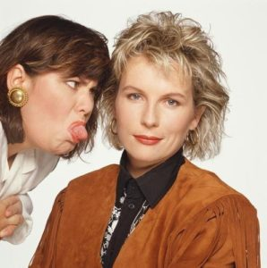 Dawn French and Jennifer Saunders 3