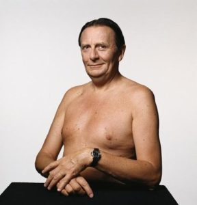 Barry Humphries (Shirtless)