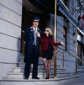 Joan Rivers And Doorman