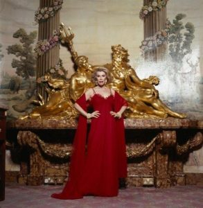 Joan Rivers Red Gown
