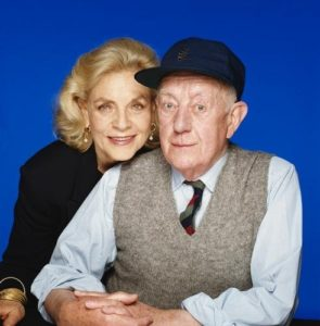 Lauren Bacall and Alec Guinness
