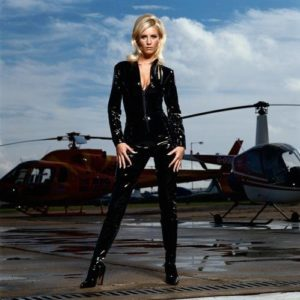 Denise van Outen With Choppers