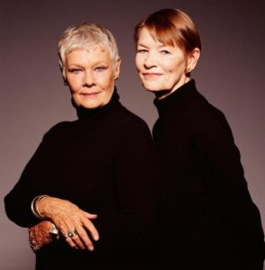 Judi Dench and Glenda Jackson