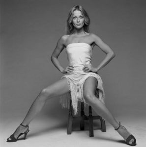 Anouska Hempel White Dress And Stool