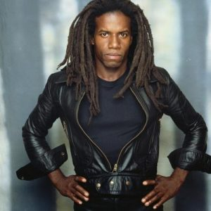 Eddy Grant Leather and Dreads