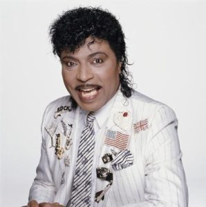 Little Richard White Jacket with Patches 2