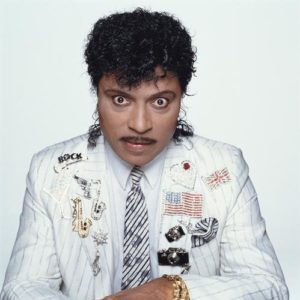 Little Richard White Jacket With Patches