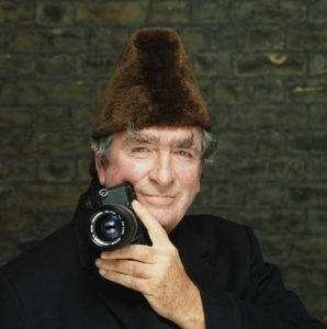 Denis Healey Camera And Hat