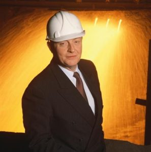 Neil Kinnock Hardhat And Sparks