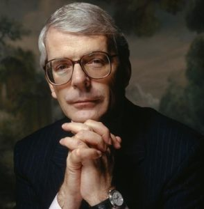 John Major Dark Portrait