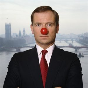 Jeffrey Archer Clown Nose