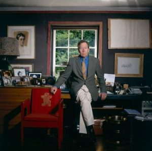 Lord Snowdon Red Chair