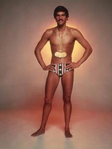 Mark Spitz with Medals