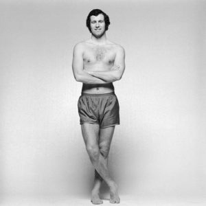 Peter Osgood in Boxers