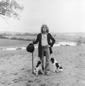 Roger Daltrey With His Dogs