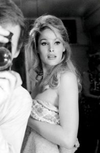 Ursula Andress Wrapped In A Towel
