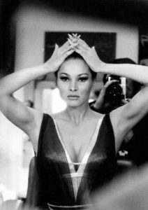 Ursula Andress Hair Back Stare