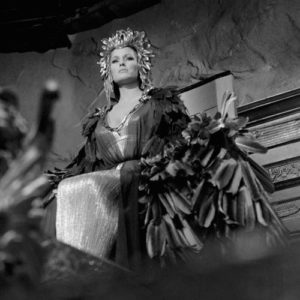 Ursula Andress:  Looking Up