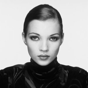 Kate Moss Portrait (Co-Signed Edition)