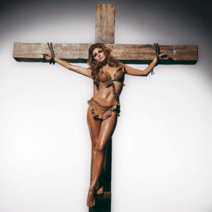 Raquel Welch on the Cross Color (Co-Signed Edition)
